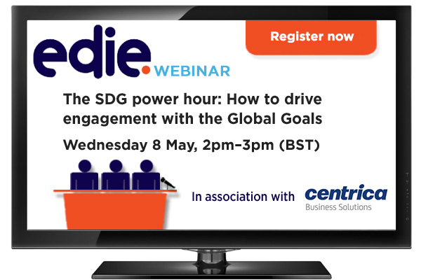Webinar: SDG Power Hour: Aligning your sustainability strategy with the Global Goals - edie.net