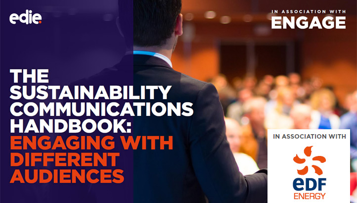 The sustainability communications handbook: Engaging with different audiences - edie.net